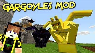 Gargoyles mod | Gárgolas Súper Poderosas Para Tu Aventura | Minecraft 1.12.1 – 1.12 | Review Español