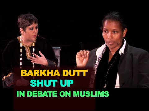 Barkha Dutt criticizes Hindus During discussion on Muslims, Gets SHUT UP Ayaan Hirsi Ali видео