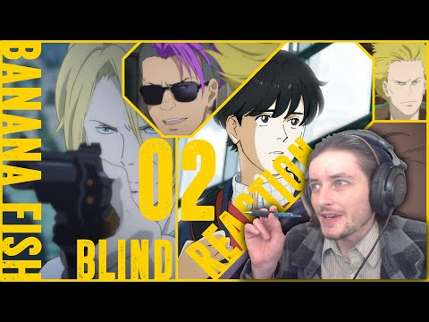 Teeaboo Reacts - Banana Fish Episode 2 - Springing the trap...