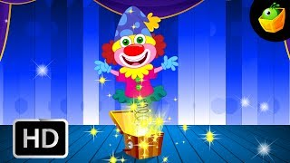 My Jack in the box - English Nursery Rhymes - Animated/ Cartoon Songs For Kids