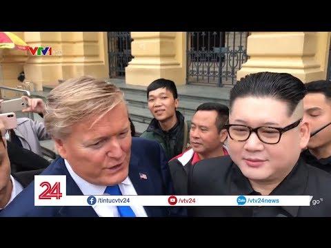 Cuộc hội ngộ ở Hà Nội của bản sao Trump - Kim @ vcloz.com