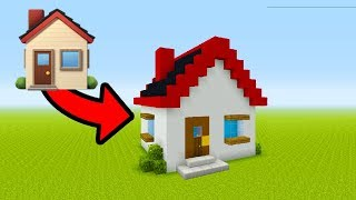 "Minecraft Tutorial: How To Make A Emoji House ""House Emoji House"""