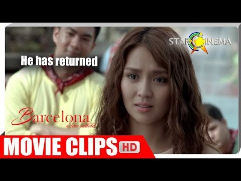 Ely (Daniel) and Mia (Kathryn), reunited! | Barcelona | Movie Clips