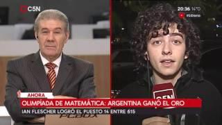 Olimpíada de matemática: Argentina ganó el oro