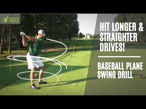 Golf: How To Hit Driver Longer and Straighter With Baseball Swings - Alex Fortey