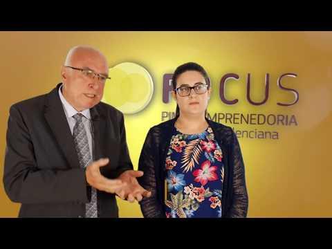 Jessica Ortiz y Mariano Tarí de Inteligencia Turística en #FocusPyme Marina Alta