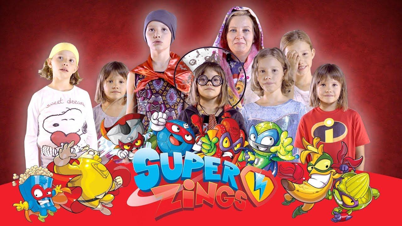 Szukamy super bohaterów do filmu reklamowego, SuperZings
