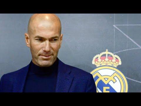 Fußball: Real Madrid - Zinédine Zidane ist wieder Tra ...