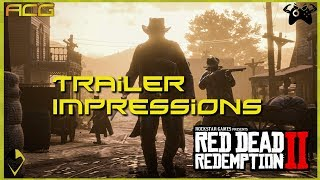 Red Dead Redemption 2  Official Gameplay Video Impressions