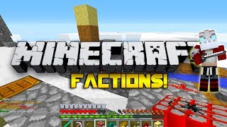 Minecraft Factions #15 - GET RID OF THE WATER!! w/Nooch&Woofless