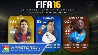 [Game] Fifa 16 Ultimate Team - Trải nghiệm Fifa 16 - AppStoreVn, tin công nghệ, công nghệ mới