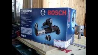 02   Bosch GDE 16   подготовка к сверлению