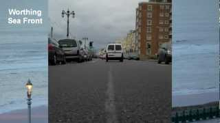 Worthing United Kingdom  City new picture : Driving through Worthing UK - Time Lapse