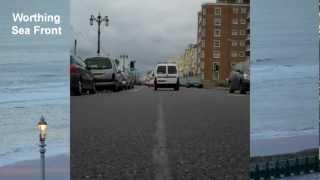 Worthing United Kingdom  city photo : Driving through Worthing UK - Time Lapse