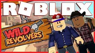 COWBOYS VS SHERIFF'S!?   Roblox Wild Revolvers   With MiniMuka
