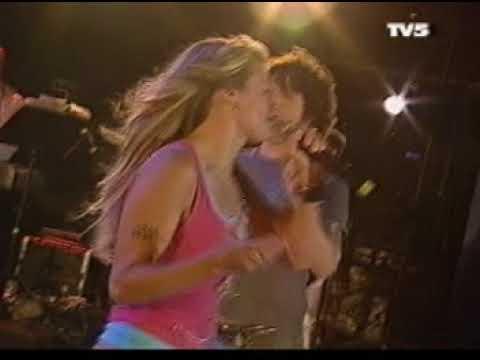 Caroline Néron et Stéphane Papillon - Show St Jean 2004 à Québec