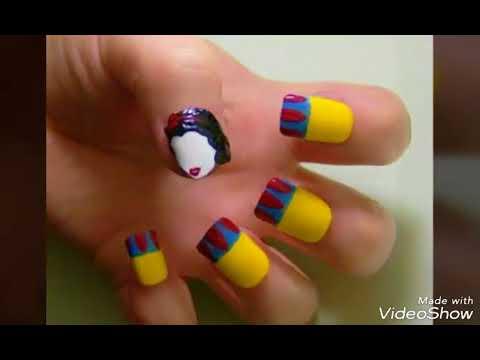 Videos de uñas - Diseños de uñas nails art diseños para uñas cortas
