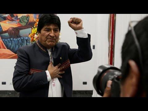 Boλιβία: Νικητής ο Μοράλες από τον πρώτο γύρο