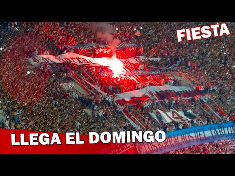 Video - LLEGA EL DOMINGO   FIESTA MONUMENTAL - River Plate vs Libertad - Copa Sudamericana 2014 - Los Borrachos del Tablón - River Plate - Argentina