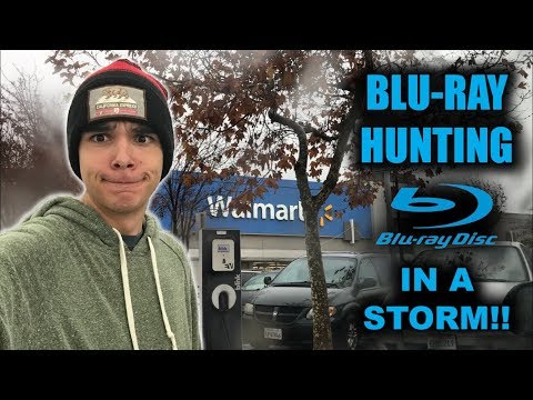 BLU-RAY HUNTING IN A STORM! - WALMART/BEST BUY PICKUPS