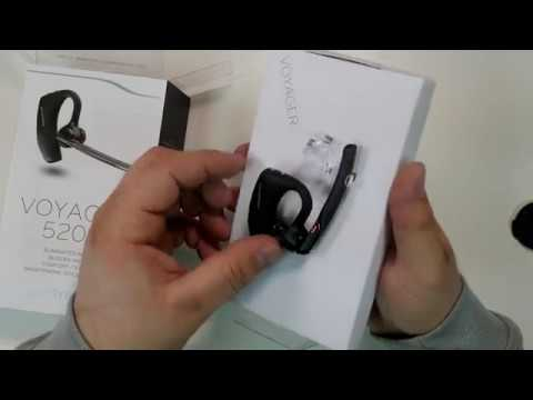 Plantronics Voyager 5200 5220 Review Bluetooth wireless phone headset