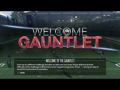 Madden 18 Gauntlet Mode - Jehovah's Witnesses! :: Madden NFL 18 Online Gameplay (видео)