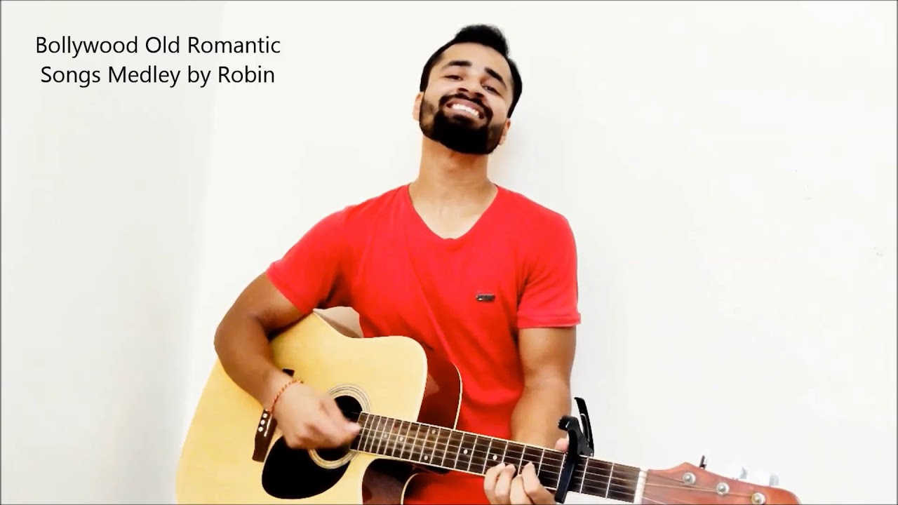 Bollywood Old Classics Medley on Guitar | Raw Cover | Robin Singh