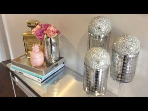 DIY Glam MIrrored Console Table (Kmart Hack )