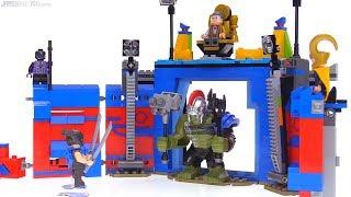 Video LEGO Thor vs. Hulk Arena Clash set review! Thor: Ragnarok set 76088 MP3, 3GP, MP4, WEBM, AVI, FLV Agustus 2018