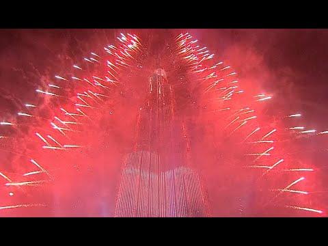 Burj Khalifa 2015 Fireworks