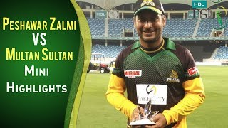 PSL 2018 Highlights | Multan Sultans Vs. Peshawar Zalmi | Match 1 | 22nd February | HBL PSL 2018