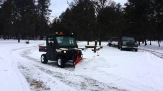 8. Boss utv v plow and bobcat 3400 diesel polaris ranger