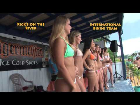 Bikini Contest at Rick's on the River