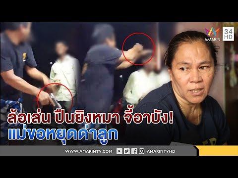 ทุบโต๊ะข่าว : แค่ล้อเล่น ปืนยิงหมาจี้หัวอาบัง!แม่ป้องลูก ขอหยุดด่า รับเตลิดหนี กลัวคนประณาม 28/09/60