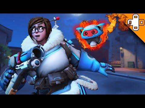 Mei Gets TERRORIZED! Overwatch Funny & Epic Moments 614 (видео)
