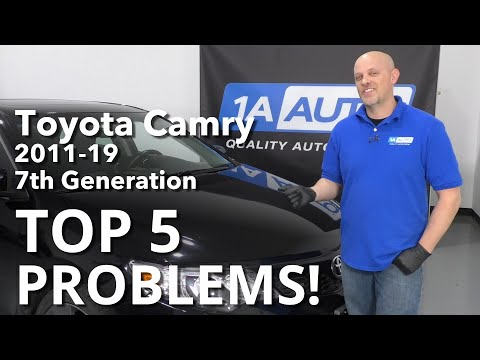 Top 5 Problems Toyota Camry Sedan 7th generation 2011-19