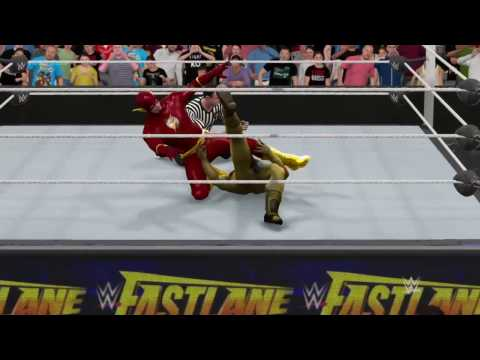 WWE2K17 Match Ups #26 Flash Vs Reverse Flash Extreme Rules