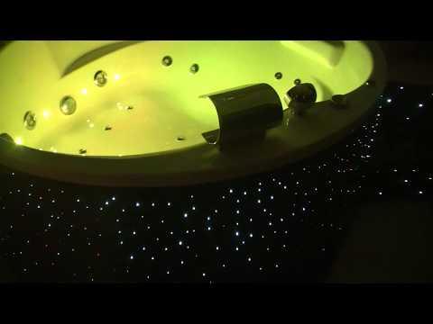 Zestaw Planetarium, oświetlenie światłowodami, ekskluzywne wnętrza domu, mieszkań