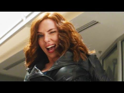 Captain America Civil War Bloopers and
