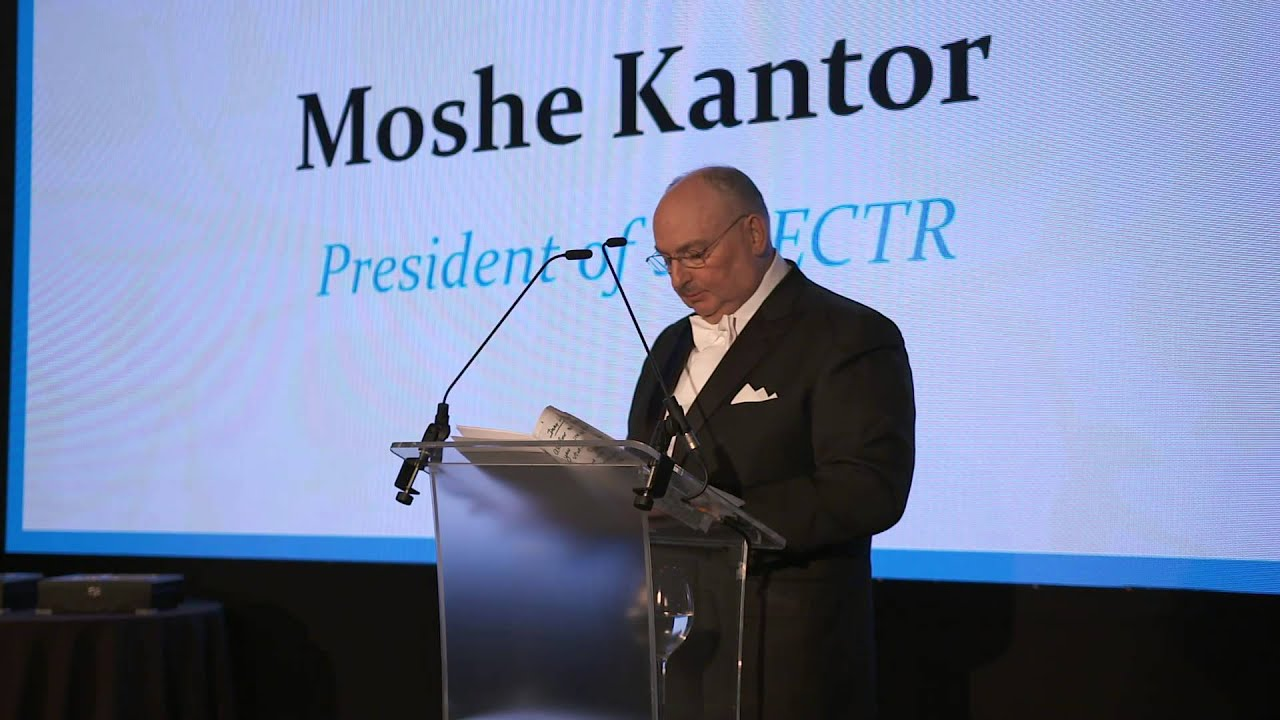 Speech by the Chairman of the European Council on Tolerance and Reconciliation Moshe Kantor at the Ceremony of Awarding Samuel Eto'o with the European Medal of Tolerance. London, March 9, 2015