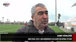 """Samet Aybaba : """"Lig'in 2.Yarısında Eskişehirspor'u Layık Olduğu Yere Getirmek İstiyoruz"""""""