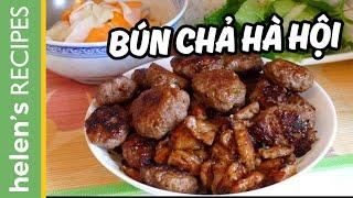 Bún chả - Vietnamese Grilled Pork with Vermicelli