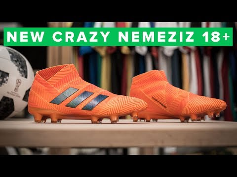 adidas Nemeziz 18+ Tech Talk |  football boots made of TAPE