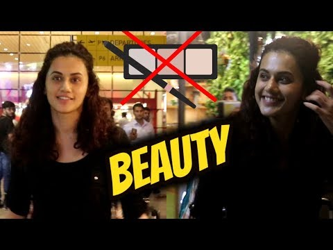 Without Make up Beauty Taapsee Pannu Without Make up Beauty