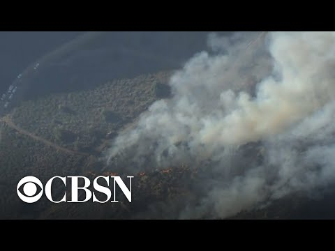 Apple Fire in California's Riverside County continues to grow
