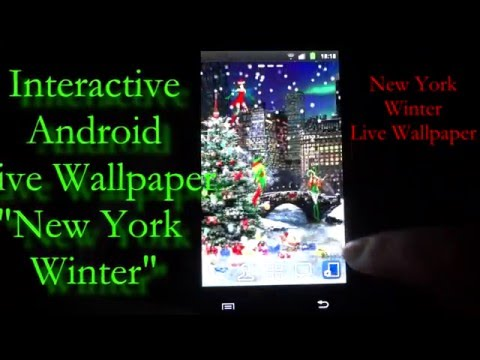 Video of New York Winter Live Wallpaper