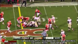 Cameron Erving vs Clemson (2013)