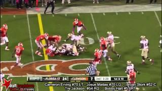 Bryan Stork vs Clemson (2013)
