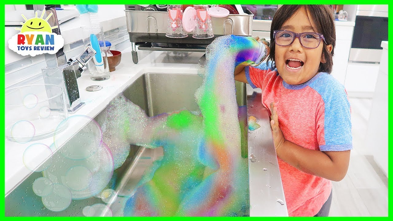 Rainbow Snake bubbles DIY Science Experiments at home!!! - YouTube