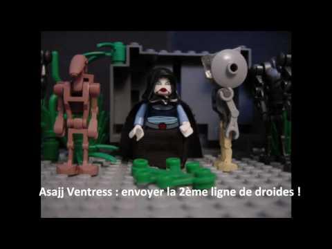 Star wars the clone wars lego épisode 6